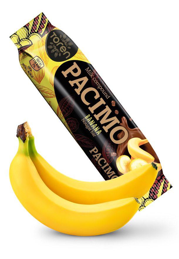Pacimo bar de nougat au banana