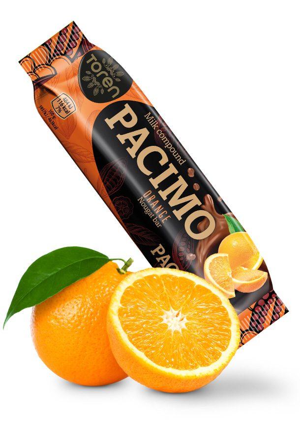 Pacimo Nougat Bar Orange