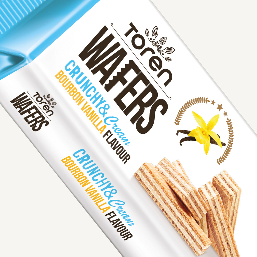 Wafers Bourbon Vanilla