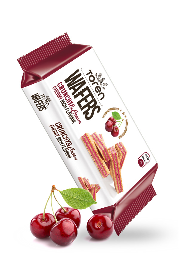 Wafers Cherry