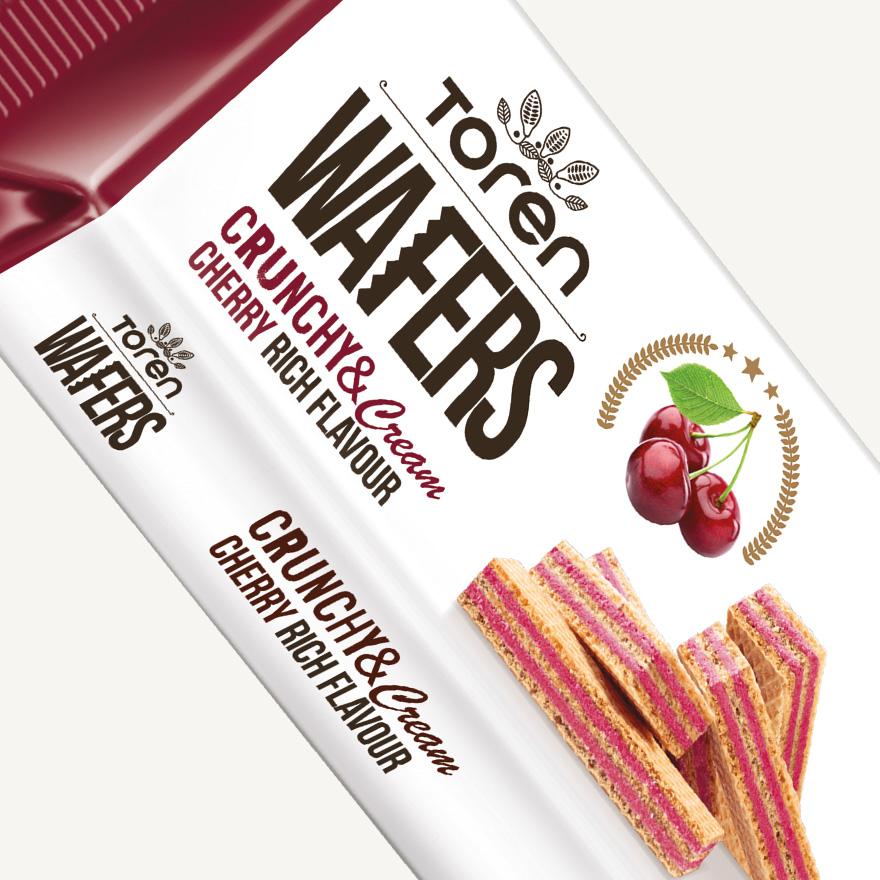 Wafers Cherry