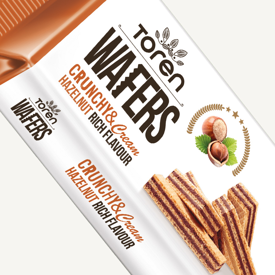 Wafers Hazelnut