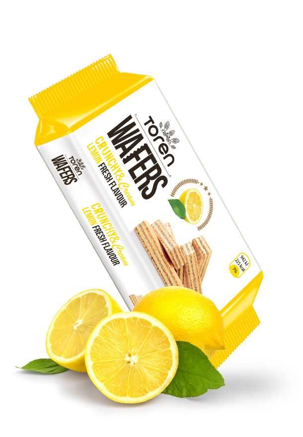Wafers Lemon