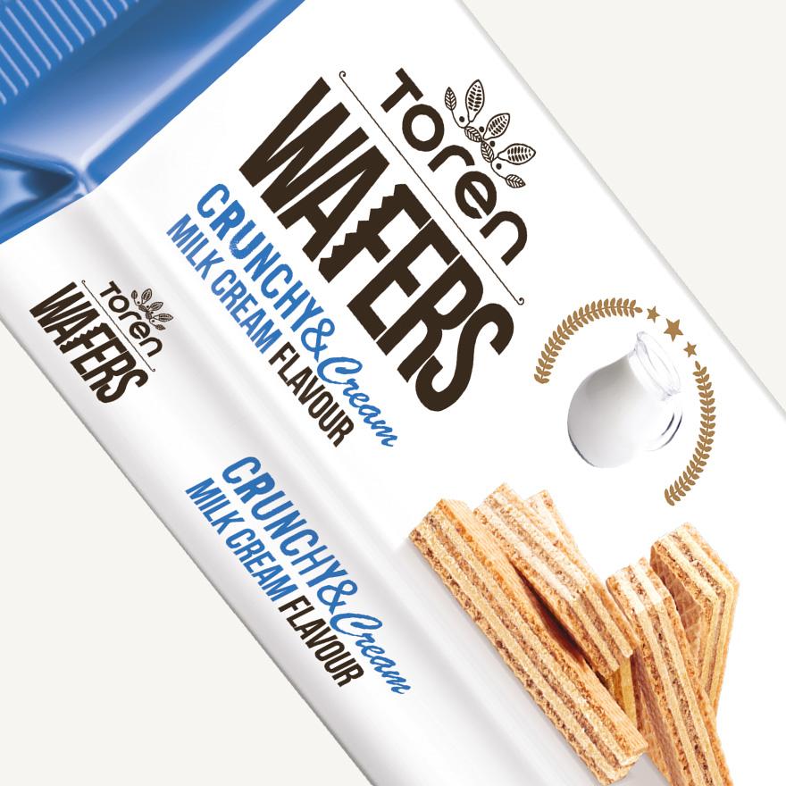 Wafers Milk Cream