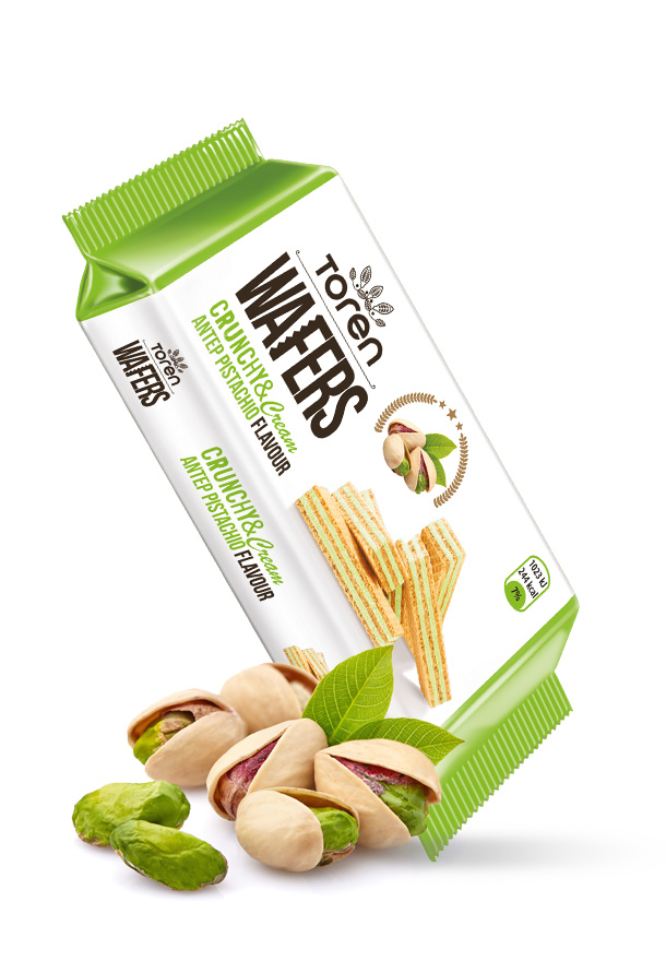 Wafers Antep Pistachio