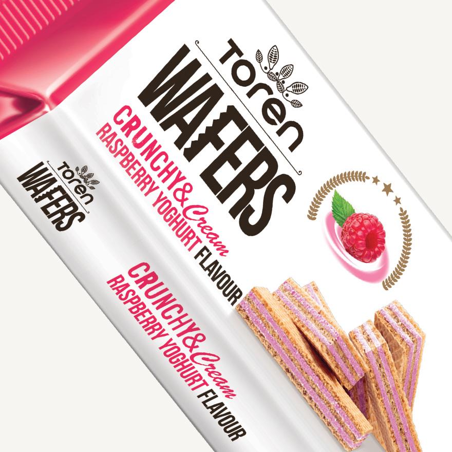 Wafers Raspberry Yoghurt