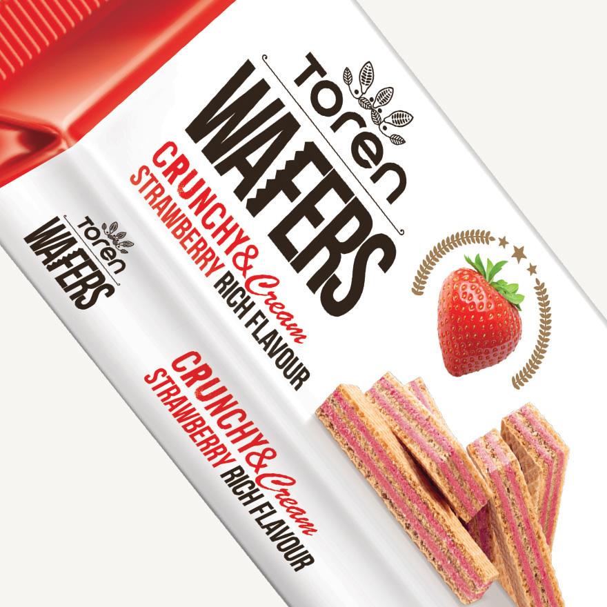 Wafers Strawberry